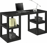 Altra Deluxe Parsons Desk, Black Oak